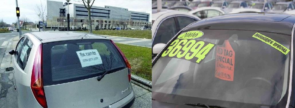 La DGT permitirá vender coches en la calle