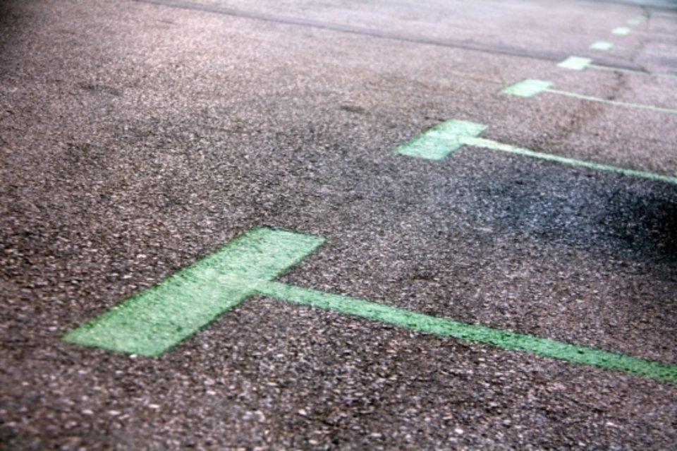 Según la AEA, las zonas de aparcamiento verdes no son legales
