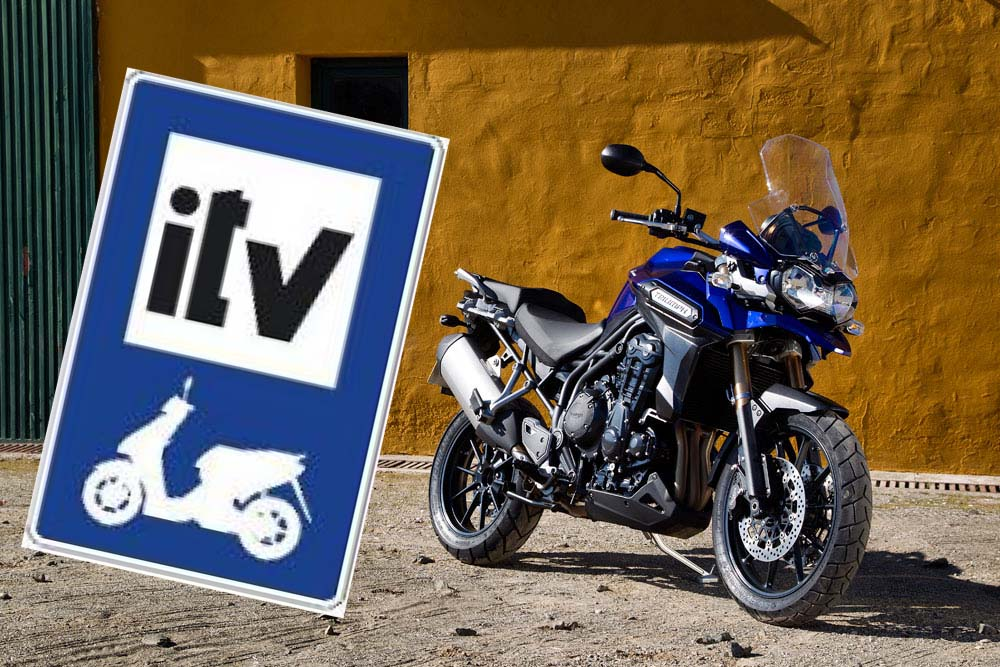 Casi la mitad de las motos en circulación no han superado la ITV