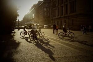 Campaña para concienciar a peatones y ciclistas