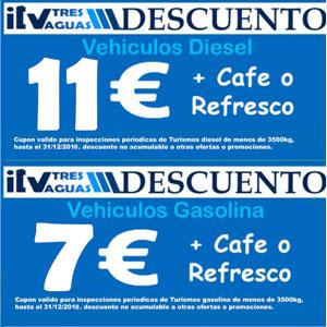 oferta precios itv madrid