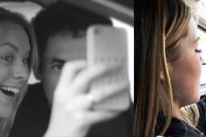 Los jóvenes europeos que más 'selfies' se hacen al volante