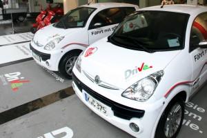 Los vehículos de Carsharing tendrán distintivo específico